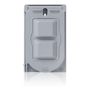 WM1V-GY METAL WEATHERPROOF COVER