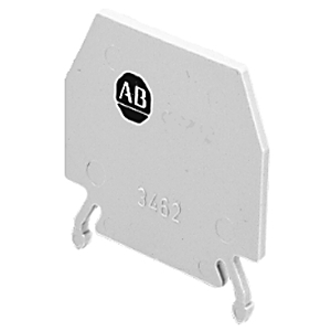 Allen-Bradley 1492-PP10 Terminal Block, Partition Plate, Gray, for 1492-W