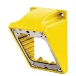 "Hubbell-Wiring Kellems HBL60CM84A Angled FD Box, Marine Grade, (2) 1"" NPT Hubs, Thermoplastic"