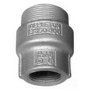 "Appleton ES500400 Sealing Hub, 5"" x 4"", Male/Female, Explosionproof, Malleable"