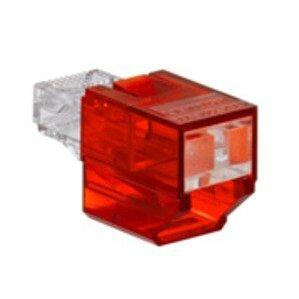 Leviton SRJPB-R Secure RJ45 Port Blocker Red *** Discontinued ***