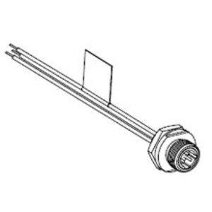 Woodhead 7R4A06A19A120 MIC 4P MR 12IN. 1/4NPT #22 PVC