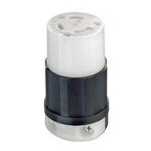 Leviton C2653 Locking Connector, Industrial Grade, Grounding
