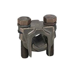 Panduit VT-1-Q Two-Bolt Connector, Bronze Cast