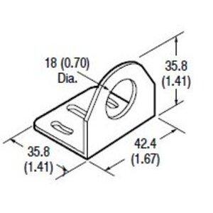 Allen-Bradley 60-2657 Mounting Bracket, Right Angle, 30D Horizontal Adjustment
