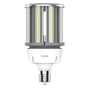 RAB HID-100-EX39-840-BYP-PT LED, Post Top Retrofit, 100W, 4000K, 13500 Lumen, 120-277V