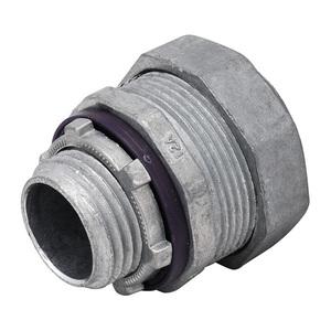 "Madison LQA-1150-I Liquidtight Connector, Straight, Insulated, Size: 1-1/2"", Zinc"