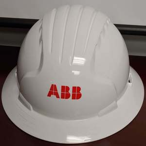 Protective Industrial Products 280-EH-EV6161-10-W/ABB EVOLUTION DELUXE 6161 FULL BRIM HARD HAT WHITE