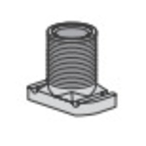 Power-Strut PS2625-1/2-EG Wiring Stud Nut, Size: 1/2-14, Steel/Electro-Galvanized, Limited Quantities Available