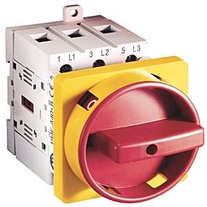 Allen-Bradley 194E-A63-1756 Disconnect Switch, 6P, 2-Position, 63A, 690VAC, No Handle