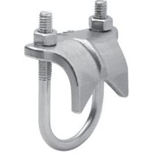 "Cooper Crouse-Hinds RAC75SS Right Angle Clamp, Size: 3/4"", Stainless Steel"