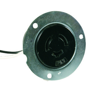 Pass & Seymour S2347 Flanged Outlet, 3W, Non-NEMA