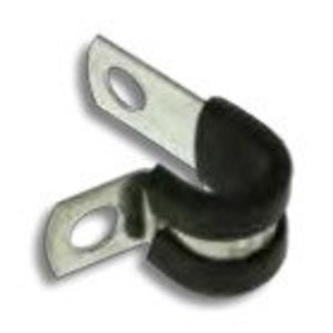 "Metallics SPN316 Cable Clamps, Type: Cushioned, Size: 3/16"", Steel"