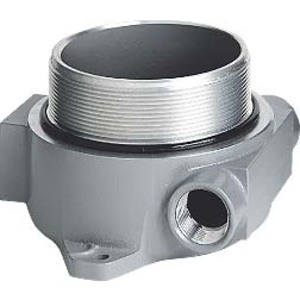"Hubbell-Killark HKB-2DC Instrument/Device Enclosure, 2"" Dome Cover, Aluminum"