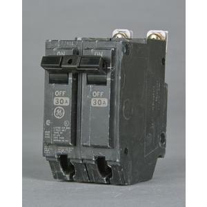 GE Industrial THQB22100 Breaker, 100A, 2P, 240VAC, Bolt On, Q-Line Series, 10kAIC