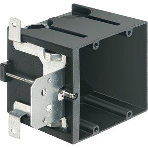 """Arlington FA102 Switch/Outlet Box, 2-Gang, Depth: 3.875"""", Adjustable, Non-Metallic"""