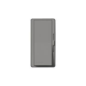 Lutron DV-603P-GR Slide Dimmer, Decora, 600W, 3-Way, Diva, Gray