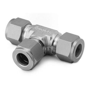 """Swagelok SS-810-3 Tube Fitting, Union Tee, 1/2"""", Stainless Steel"""