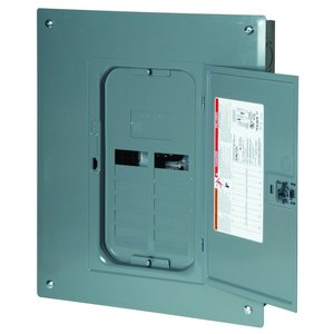 Square D HOMC12UC Load Center, Homeline, Replacement Cover, Flush/Surface, 12 Space