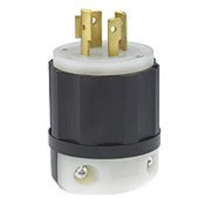 Leviton 2451 Locking Plug, 20A, 3PH Y 277/480V, 4P4W
