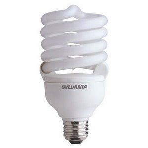 SYLVANIA CF40EL/TWIST/827/RP Compact Fluorescent Lamp, Twister, 40W, 2700K