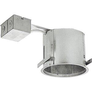 "Progress Lighting P186-TG IC/Non-IC Shallow Remodel Housing, 6"""