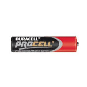 Duracell PC2400TC24 Battery, 1.5V, AAA, LR03, Alkaline