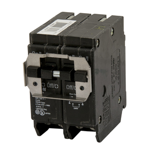 Eaton BQ240250 Breaker, 40/50A, 2P, 120/240V, 10 kAIC, CTL Quad, BR Series