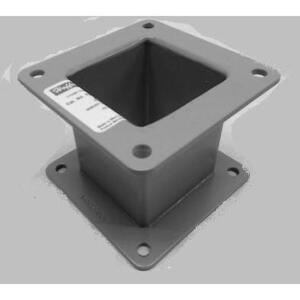 """Hoffman F22WN3 Wireway Nipple, for Type 12 Feed-Through, 2-1/2"""" x 2-1/2"""" x 3"""""""