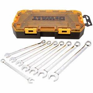 DEWALT DWMT73810 8 Piece Combination Metric Wrench Set