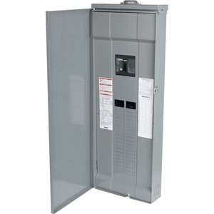 Square D QO342MQ200RB Load Center, Main Breaker, 200A, 240VAC, 3PH, 42/42, NEMA 3R, 65kA