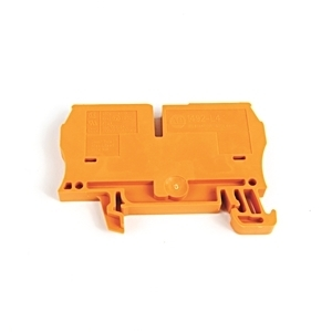 Allen-Bradley 1492-L4-OR Terminal Block, 33A, 600V AC/DC, Orange, 26 - 10AWG, 4mm