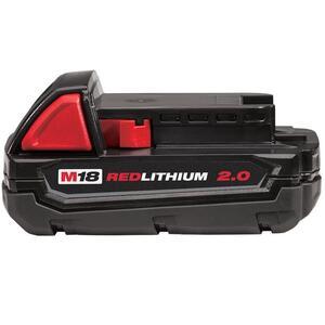 Milwaukee 48-11-1820 M18 REDLITHIUM 2.0 Compact Battery Pack