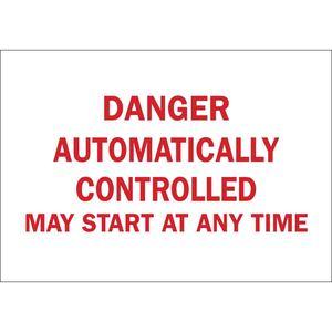 25043 MACHINE & OPERATIONAL SIGN