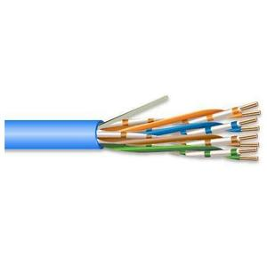 General Cable 7131800 Datacomm Cable, Plenum, Cat 6, 23/4, Blue, 1000'