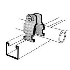 Superstrut 701-1-1/2-SS316 O. D. PIPE CLAMP