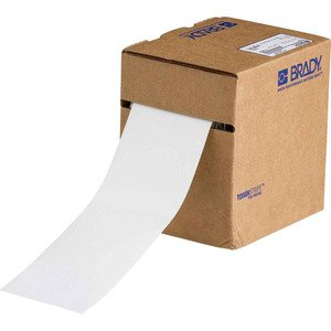 "Brady 104341 Floor Marking Tape, 3""x100', White"