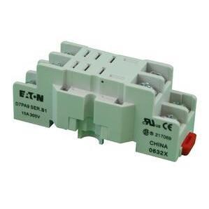 Eaton D7PA9 Socket, 8 Blade, Screw & Clamp Terminals