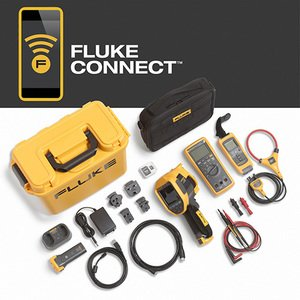 Fluke FLK-TI200-60HZ/FCA TI200 THERMAL IMAGER WITH DMM A3001FC IFLEX KIT