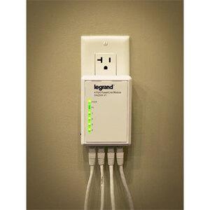 ON-Q DA2304-V1 ONQ DA2304 V1 4 PORT POWERLINE ADAPTER NETWORK CONNECTIVITY