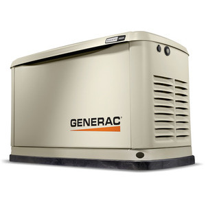 Generac 7077 Guardian, Standby, 20kW, 240V, 75A, 3PH, Guardian Series