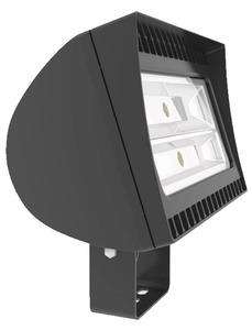 RAB FXLED150T 150W LED Flood Light, 50K, Trunnion, Bronze