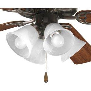 Progress Lighting P2610-20 4-Lt. ceiling fan light