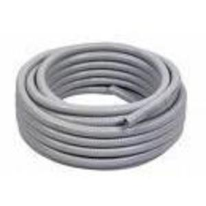 "Multiple UA500GRY25CL Liquidtight Flexible Steel Conduit, Type UA, 5"", Gray, 25'"