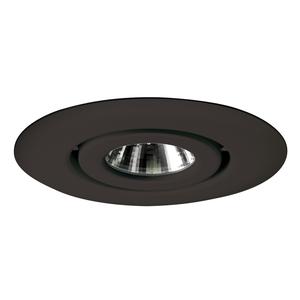 """Juno Lighting 440-BL 4"""" Flush Gimbal Ring Trim GU10 Base"""