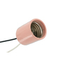 8751-200 PNK GLAZED PORC LAMPHOLD 16GA