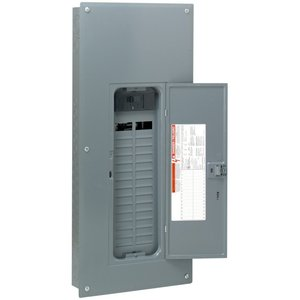Square D HOM3060M200PC Load Center, Homeline, Main Breaker, 200A, 120/240VAC, NEMA1