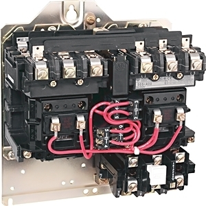 Allen-Bradley 505-TOD-23 Starter, Open, Size 00, Reversing, 600VAC, 9A, 120VAC Coil