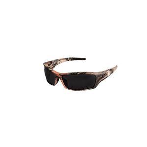 Wolf Peak SR116CF Eyewear, Forest Camouflage Frame/Smoke Lens, Non-Polarized