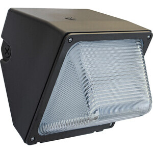 Eiko WMG-1C-50K-U LED Wallpack, 30 Watt, 3200 Lumen, 5000K, 120-277V